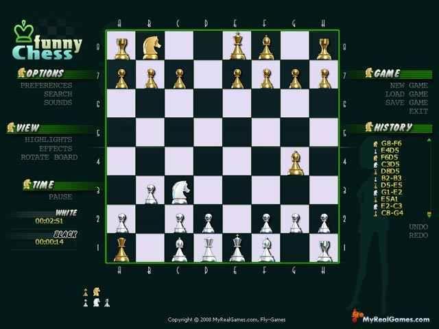 Забавные шахматы