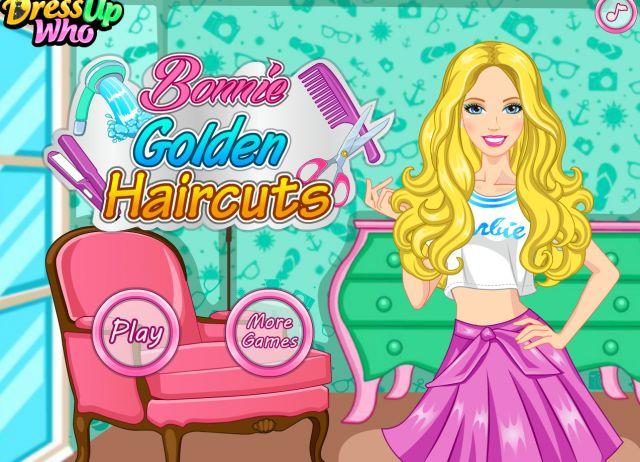 Barbie Golden Haircuts