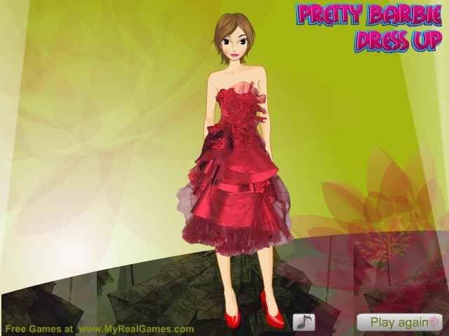 Pretty Barbie Dress Up