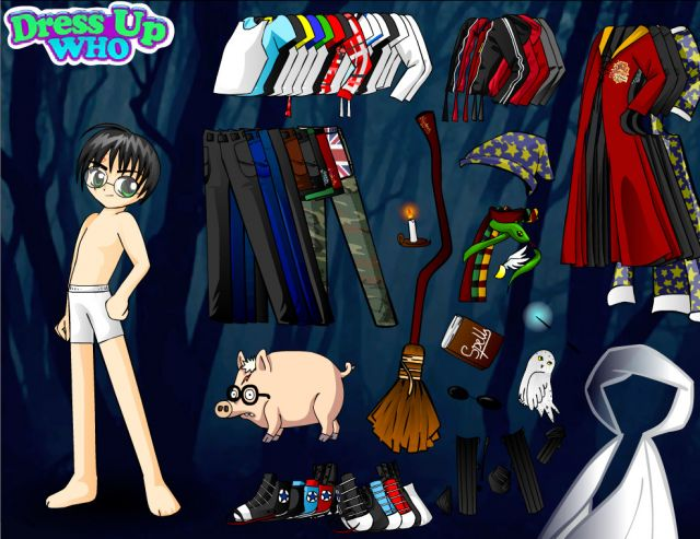 Harry Potter Dressup
