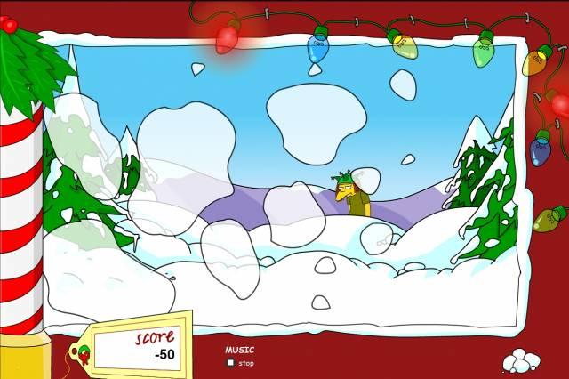 Симпсоны: снежная битва