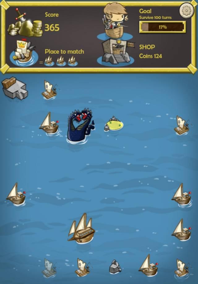 Ships & Monsters